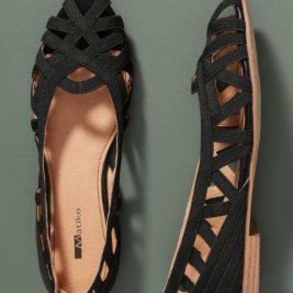 Anthropologie Shoes - NIB Anthropologie Matiko Zena Strappy Flats Sz 40